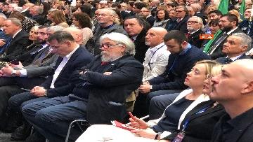9 - FdI, la conferenza programmatica per le europee a Torino con la Meloni immagini
