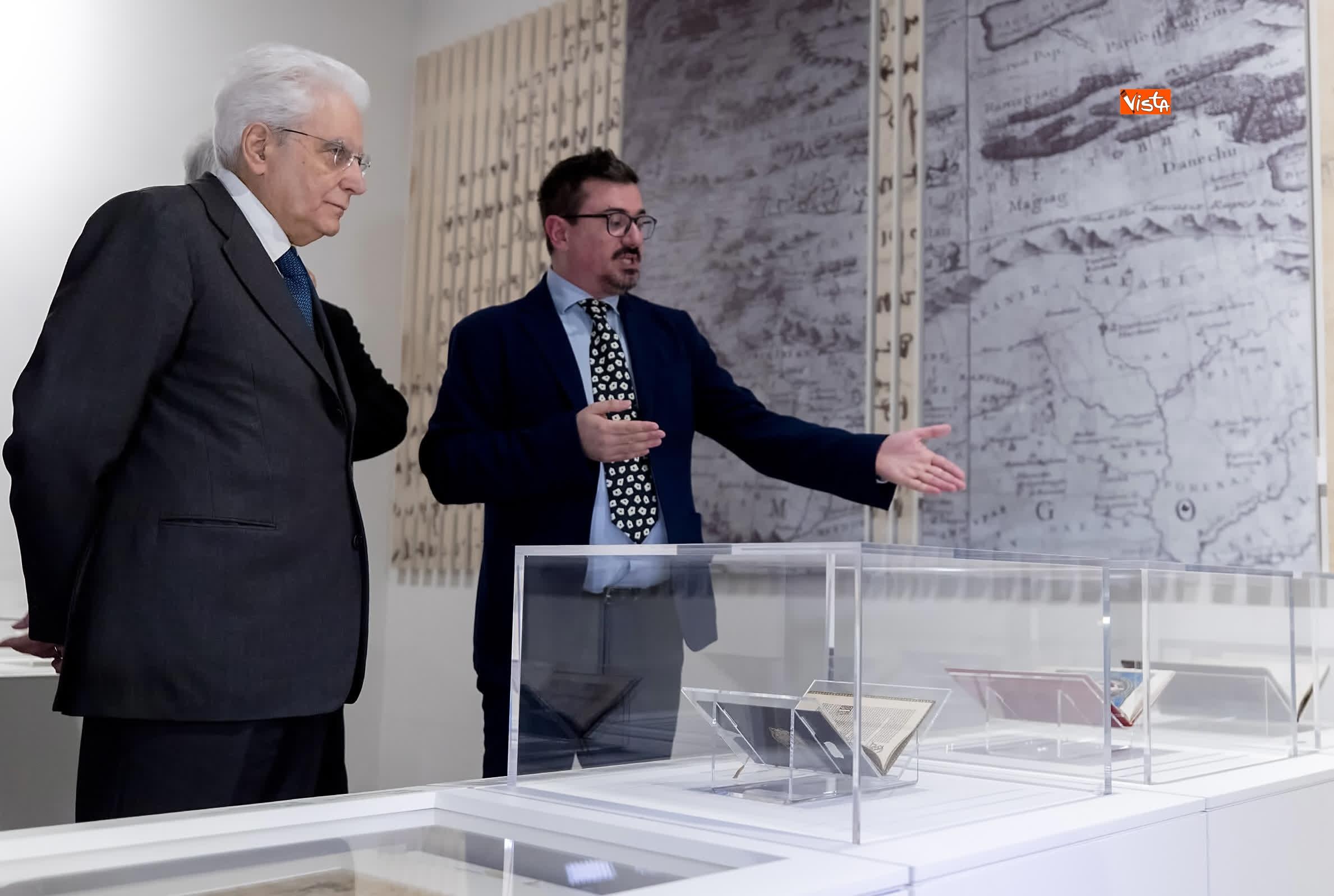 11-03-19 Mattarella a inaugurazione della mostra Leonardo Da Vinci_05. La scienza prima della scienza
