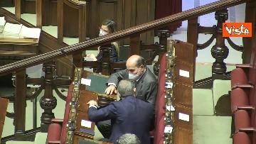 10 - Question time alla Camera con i ministri Patuanelli e Stefani. Le immagini dell'Aula