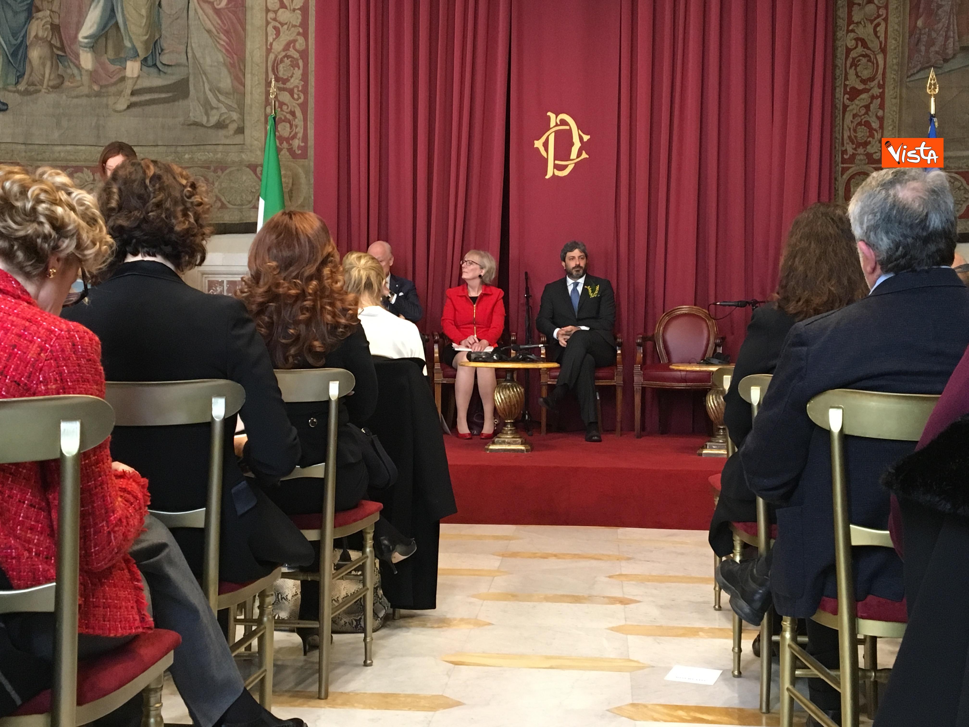 06-03-19 8 marzo a Montecitorio il convgeno Donne pace e sicurezza con il presidente Fico immagini_04