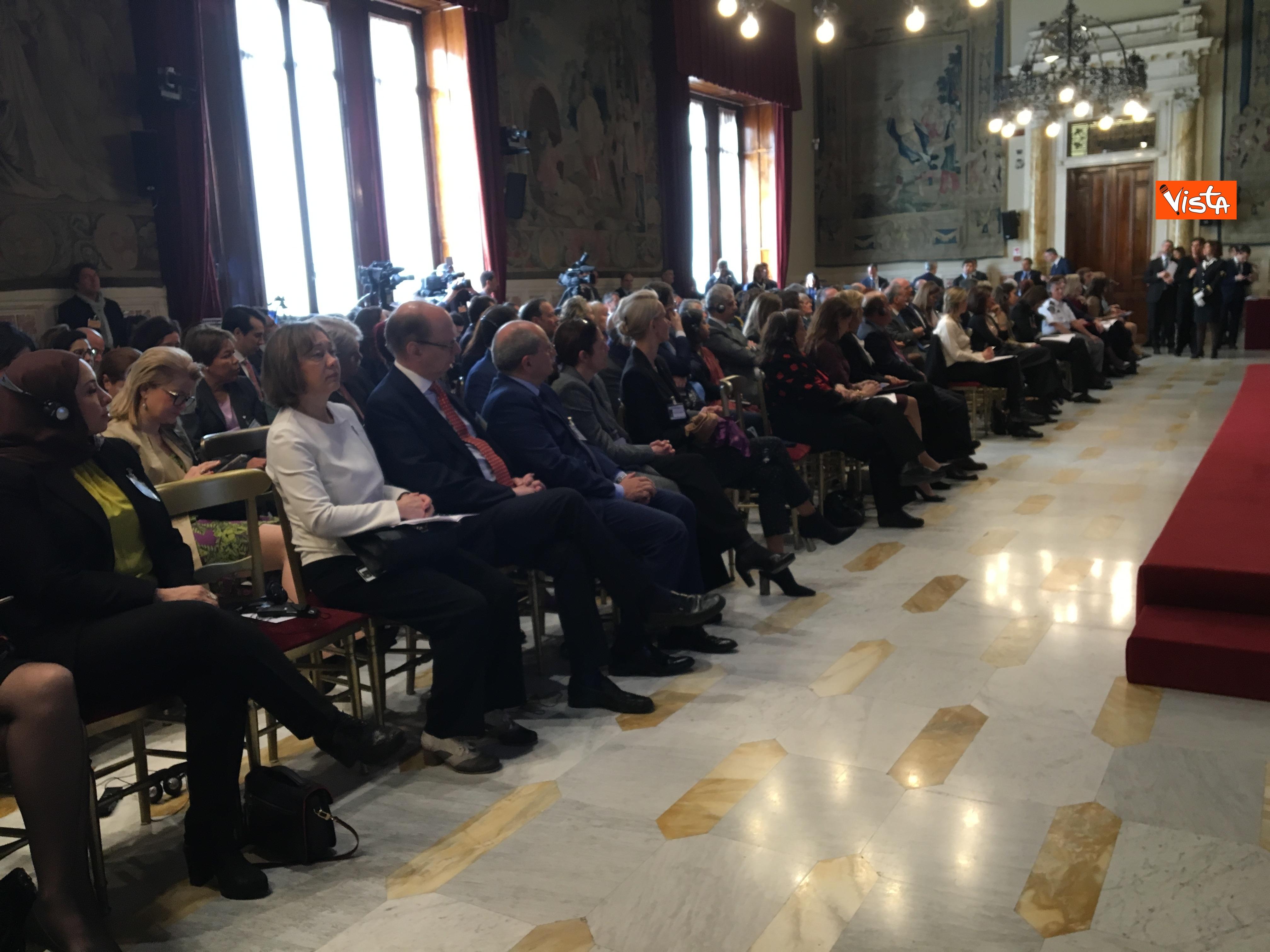 06-03-19 8 marzo a Montecitorio il convgeno Donne pace e sicurezza con il presidente Fico immagini_07