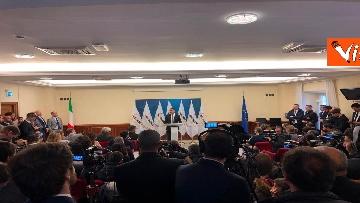 8 - Di Maio annuncia riorganizzazione M5s, la conferenza stampa a Montecitorio, immagini