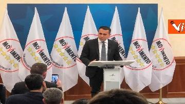 6 - Di Maio annuncia riorganizzazione M5s, la conferenza stampa a Montecitorio, immagini