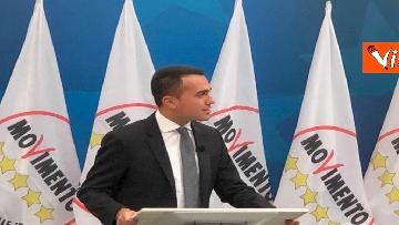 4 - Di Maio annuncia riorganizzazione M5s, la conferenza stampa a Montecitorio, immagini