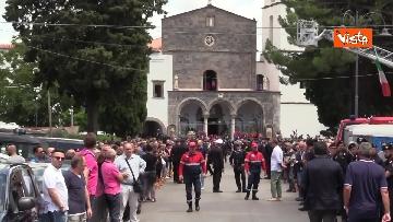 1 - Funerali di Stato per Mario Cerciello Rega, il carabiniere ucciso a Roma. Le immagini