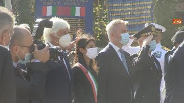 8 - Mattarella al 77° anniversario Difesa di Roma, l'omaggio ai caduti al Parco della Resistenza. Le foto