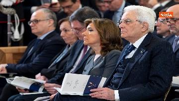 1 - Mattarella all'inaugurazione dell'anno giudiziario della Corte dei Conti, le immagini