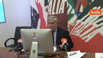 6 - Recovery, Forza Italia presenta le sue proposte. La conferenza stampa con Tajani