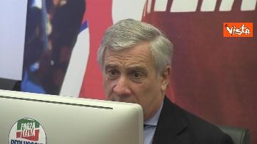 8 - Recovery, Forza Italia presenta le sue proposte. La conferenza stampa con Tajani