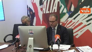 10 - Recovery, Forza Italia presenta le sue proposte. La conferenza stampa con Tajani