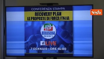 4 - Recovery, Forza Italia presenta le sue proposte. La conferenza stampa con Tajani
