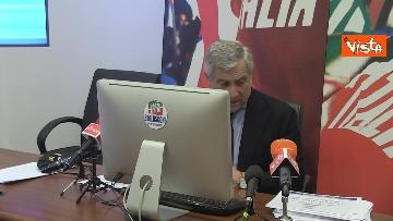 12 - Recovery, Forza Italia presenta le sue proposte. La conferenza stampa con Tajani