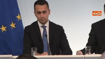 9 - Decreto fiscale. Conte, Di Maio e Salvini in conferenza stampa immagini