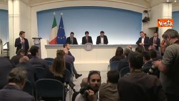 7 - Decreto fiscale. Conte, Di Maio e Salvini in conferenza stampa immagini