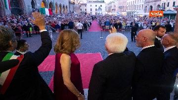3 - Mattarella al concerto inaugurale della 70* Sagra Musicale Malatestiana