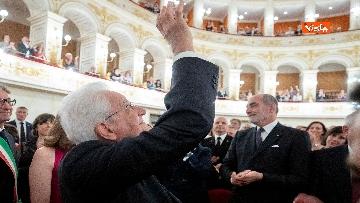 9 - Mattarella al concerto inaugurale della 70* Sagra Musicale Malatestiana