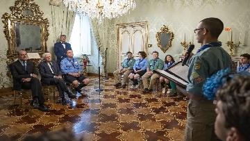 1 - Il Presidente Mattarella Incontra la Federazione Italiana dello Scautismo