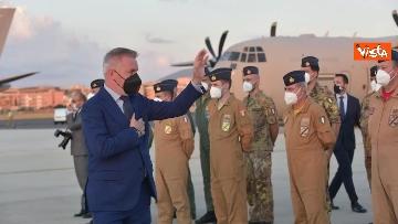 12 - Fine missione italiana in Afghanistan, ecco gli ultimi militari che atterrano a Ciampino