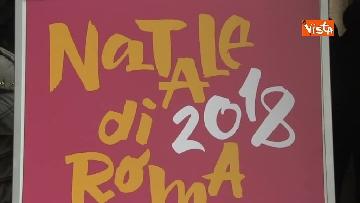 7 - La Sindaca Raggi presenta le iniziative per il Natale di Roma