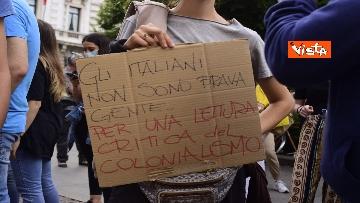 """4 - Montanelli, Non una di meno in piazza a Milano contro Sala: """"Lo stupro non è un errore"""""""