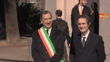 8 - Il presidente della Repubblica Mattarella all'inaugurazione della XXII Triennale di Milano