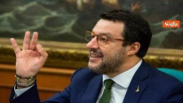 3 - Coronavirus, Salvini e Centinaio presentano proposte Lega: Fondo turismo e bonus famiglia 1000 euro