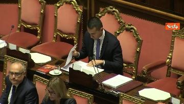 2 - Di Maio riferisce in Aula al Senato sulla situazione in Siria, immagini