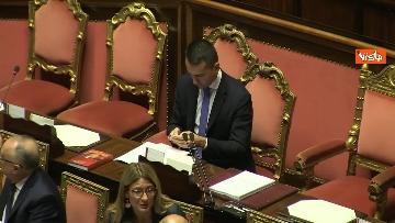 5 - Di Maio riferisce in Aula al Senato sulla situazione in Siria, immagini