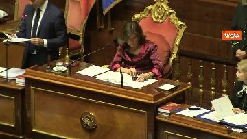 4 - Di Maio riferisce in Aula al Senato sulla situazione in Siria, immagini