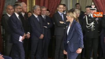 3 - Il giuramento della Bongiorno, Ministro della Pubblica amministrazione