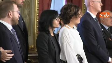 1 - Il giuramento del Ministro per la Pubblica Amministrazione Fabiana Dadone