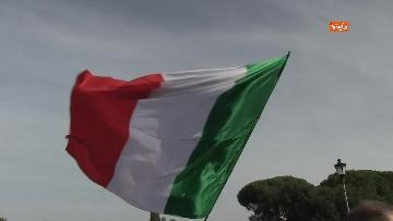 10 - Protesta contro il green pass a Piazza San Giovanni a Roma. Le foto