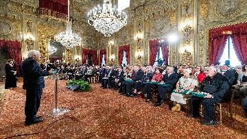 4 - Il Presidente Mattarella incontra i vertici del Polo romano delle Nazioni Unite