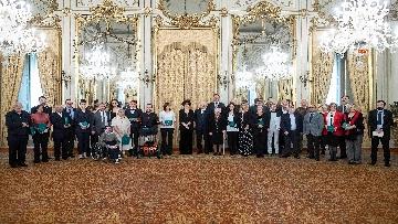 7 - Il Presidente Mattarella incontra i vertici del Polo romano delle Nazioni Unite