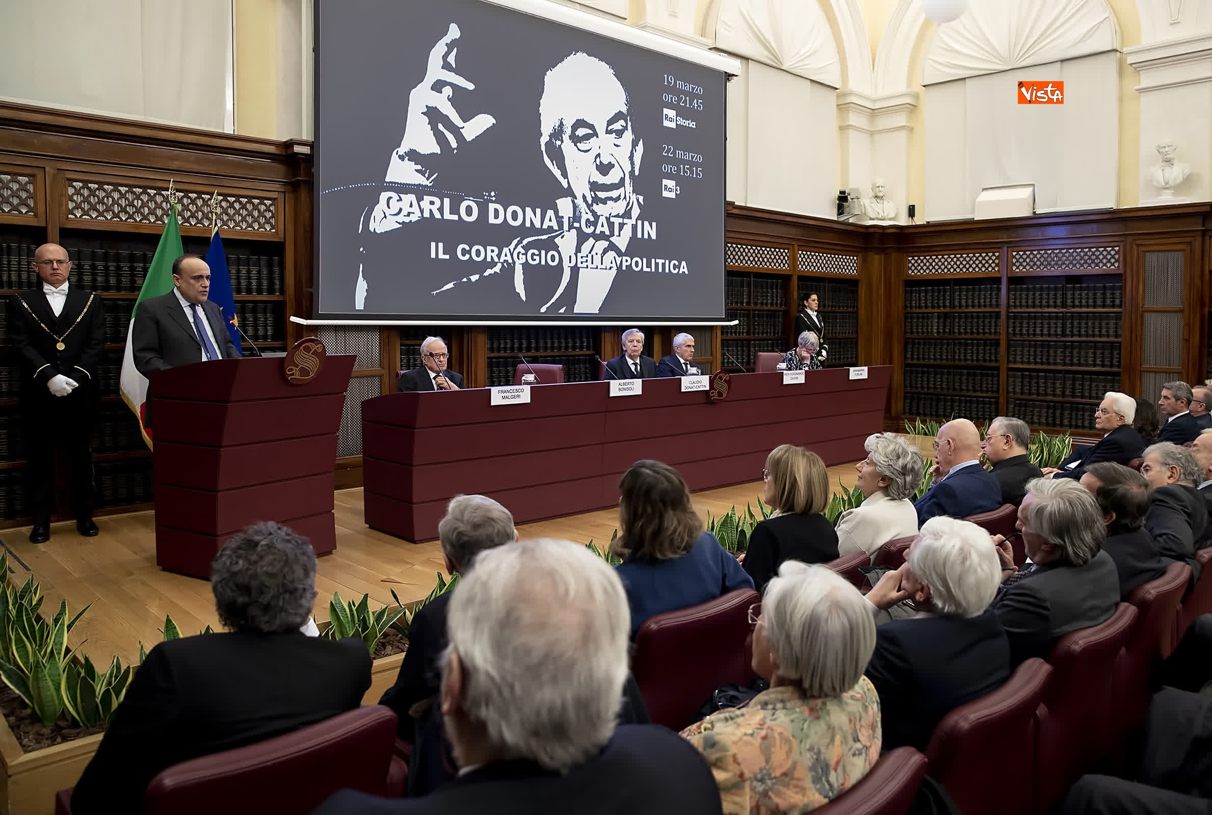 14-03-19 Mattarella partecipa alla cerimonia commemorativa del Sen_04. Carlo Donat-Cattin