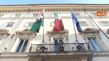1 - Libia, Conte riceve Fayez al Serraj a Palazzo Chigi