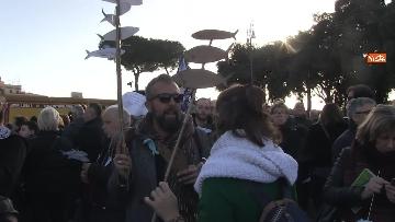 10 - Le sardine riempiono piazza San Giovanni a Roma