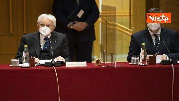 4 - Mattarella all'Assemblea plenaria del Csm, le immagini