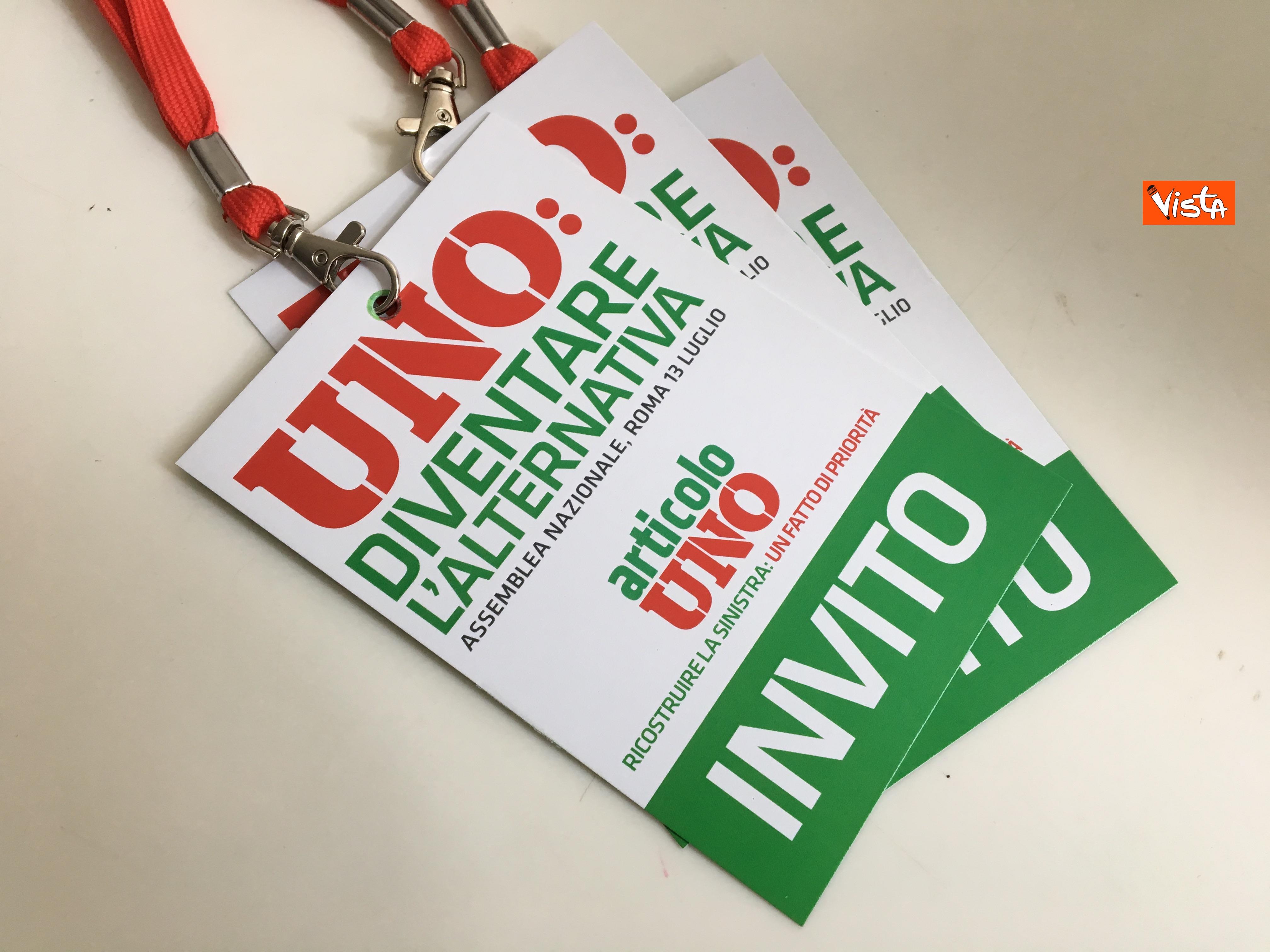 13-07-19 Articolo Uno l Assemblea nazionale a Roma immagini