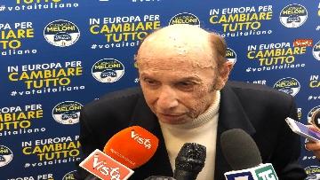 3 - Il professor Francesco Alberoni candidato per Fratelli d'Italia a 90 anni