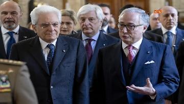 3 - Consiglio di Stato, il presidente Mattarella all'inaugurazione dell'Anno giudiziario