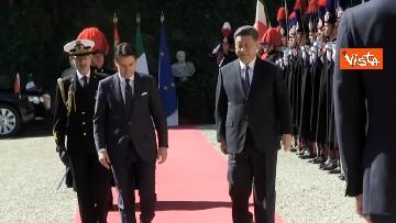 13 - Italia-Cina, Conte accoglie Xi Jinping a Villa Madama