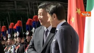 14 - Italia-Cina, Conte accoglie Xi Jinping a Villa Madama