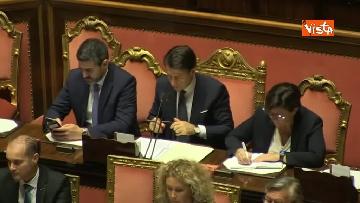 4 - Conte in aula al Senato per riferire sulla nave Diciotti