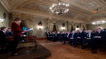 4 - Il Presidente Mattarella all'Accademia dei Lincei