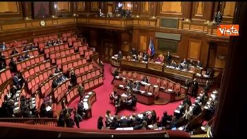 1 - Conte, question time in aula Senato immagini