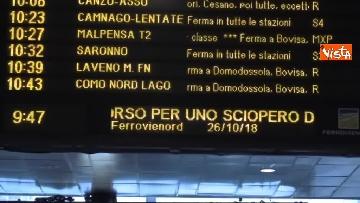 4 - Sciopero dei trasporti a Milano