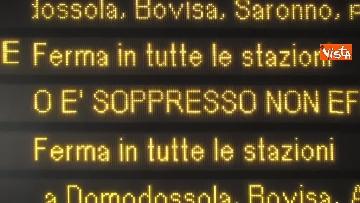 3 - Sciopero dei trasporti a Milano