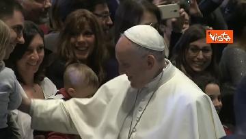 9 - Papa Francesco in Campidoglio, l'intervento in Aula Giulio Cesare