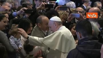 8 - Papa Francesco in Campidoglio, l'intervento in Aula Giulio Cesare